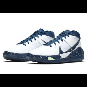 Kd 13 team college navy new basketball shoes